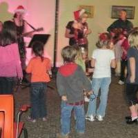 Dancing with Rebel Red @ the Holiday Hop!